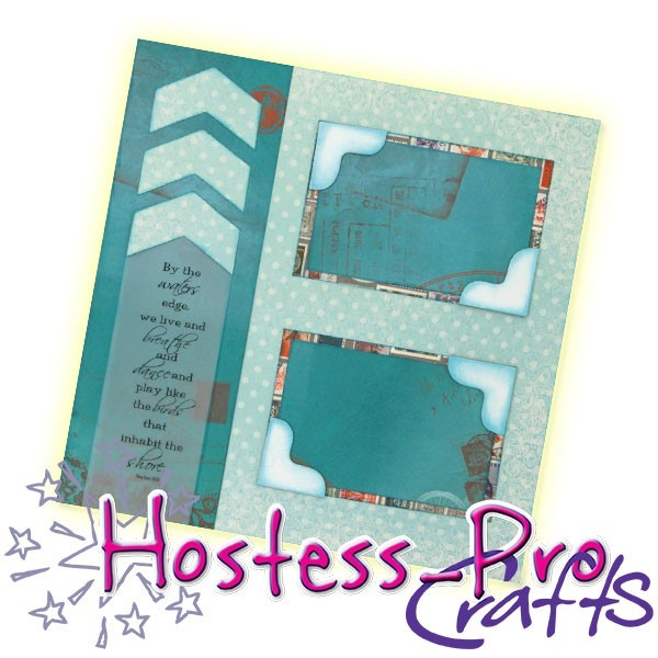 The Waters Edge 12x12 Dbl Pg Layout