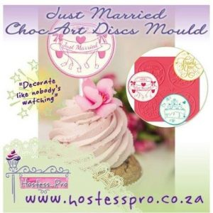 Just MArried ChocArt Disc Mould