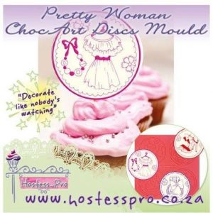 Pretty Woman ChocArt Disc Mould