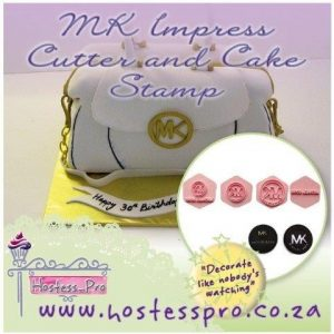 MK Impress Cutter and Cake Stamp