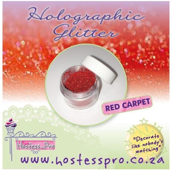 Glitters Holographic - Red Carpet