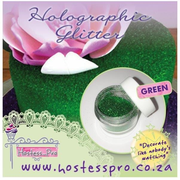 Glitters Holographic - Harlequin Green