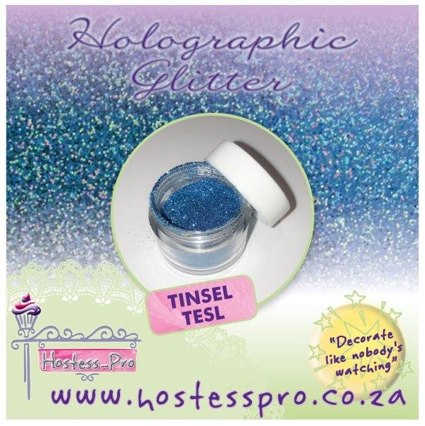 Glitters Holographic - Tinsel Teal