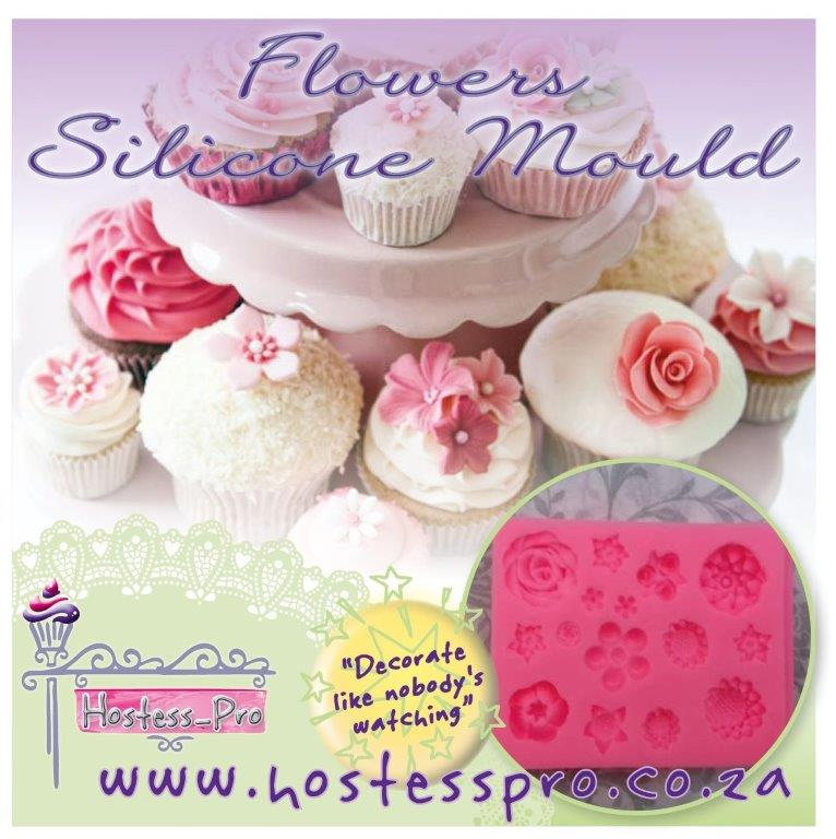 FLOWERS SILICONE MOULD2