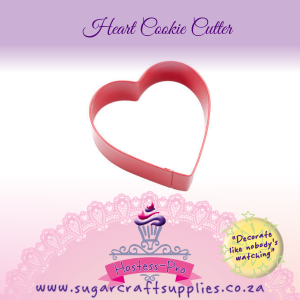 Cookie Cutter | Pink Heart Single Coated