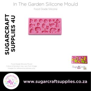 In The Garden Silicone Mould