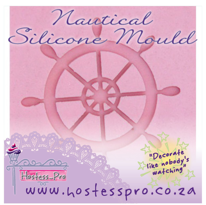 MOULD NAUTICAL WHEEL SILICONE MOULD