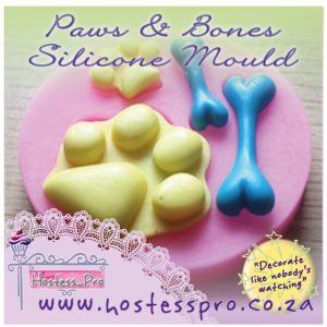 Paws and Bones Footrpint Silicone Mould