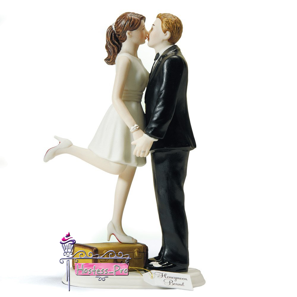 Weddingstar A Kiss and We're Off Figurine