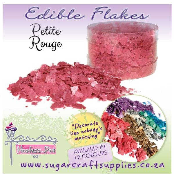 Edible Flakes_PETITE ROUGE