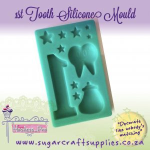 1st Tooth   Silicone Mould