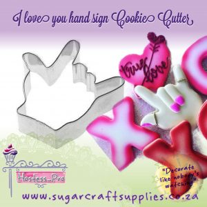 Cookie Cutter | Love Hand Sign