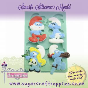 Silicone Mould | Smurfs