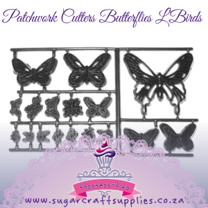 Patchwork Cutters | Butterflies L'Birds