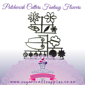 Patchwork Cutters | Fantasy Flowers
