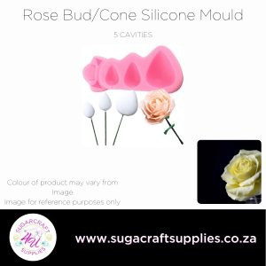 Rose Bud/Cone Silicone Mould
