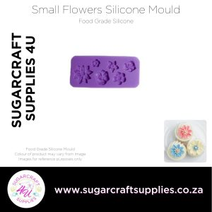 Small Flowers Silicone Mould