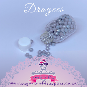 Dragees | Silver/Grey | 7mm