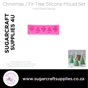 Christmas / Fir Tree Silicone Mould Set