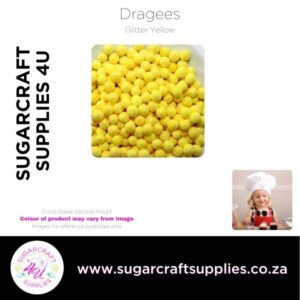 Dragees yellow