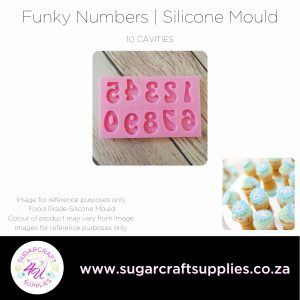 Funky Numbers   Silicone Mould
