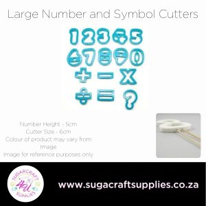 Large Number and Symbol Cutters