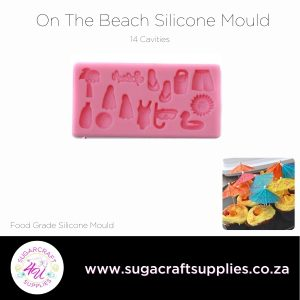 On The Beach Silicone Mould