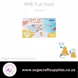 PME Fun Fonts Alphabet Upper & Lower Case Collection 2