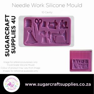 Needle Work Silicone Mould