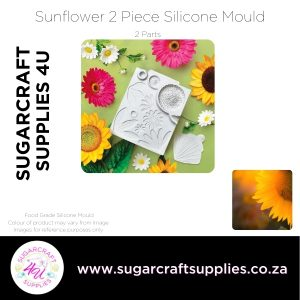 Sunflower 2 Piece Silicone Mould