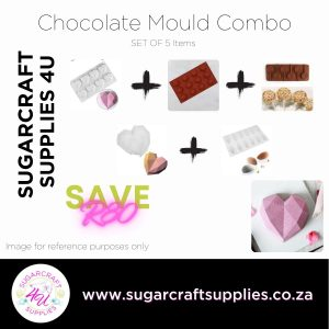 Chocolate Mould Combo SET OF 5
