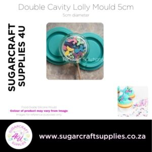 Double Cavity Lolly Mould 5cm