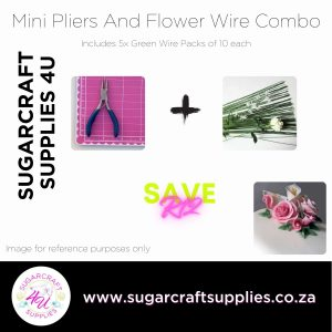 Mini Pliers And Flower Wire Combo